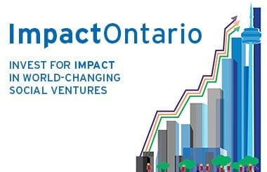 Announcing the pitch lineup at ImpactOntario