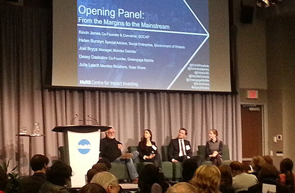 Impact Ontario - From the Margins to the Mainstream panel