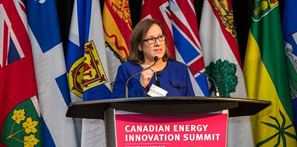 MaRS CEO Ilse Treurnicht at the Canadian Energy Innovation Summit