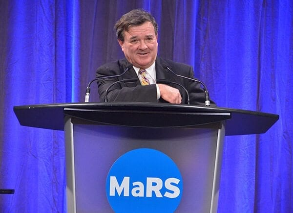Jim Flaherty at MaRS