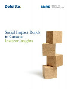 Social Impact Bonds in Canada