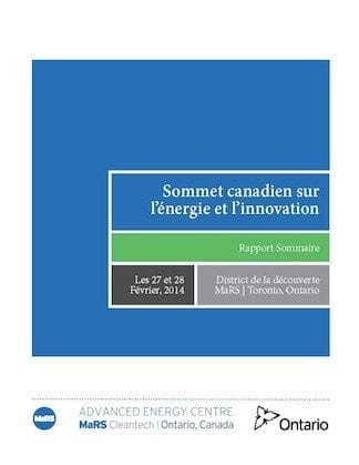 Canadian Energy Innovation Summit French