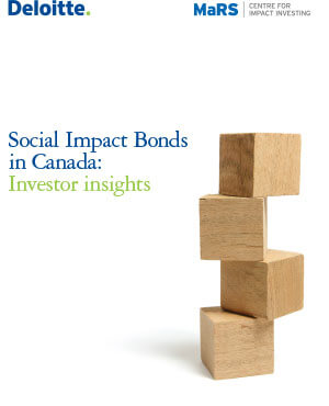 Social Impact Bonds in Canada: Investor Insights
