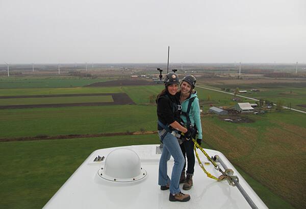 lorena wilson wind turbine melancthon