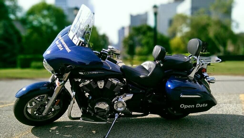 Open Government Tour Motorcycle