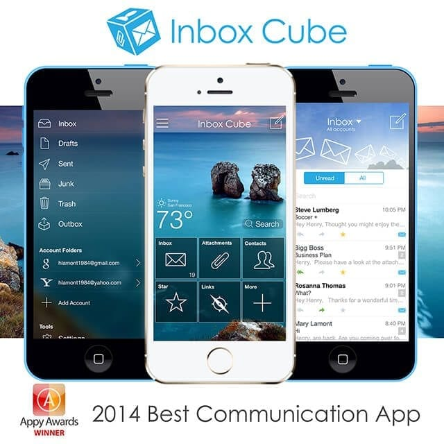 Inbox Cube Appy Awards