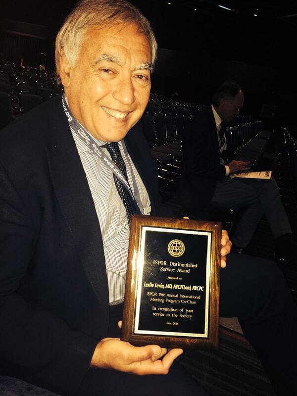 EXCITE CSO, Les Levin awarded distinguished service award