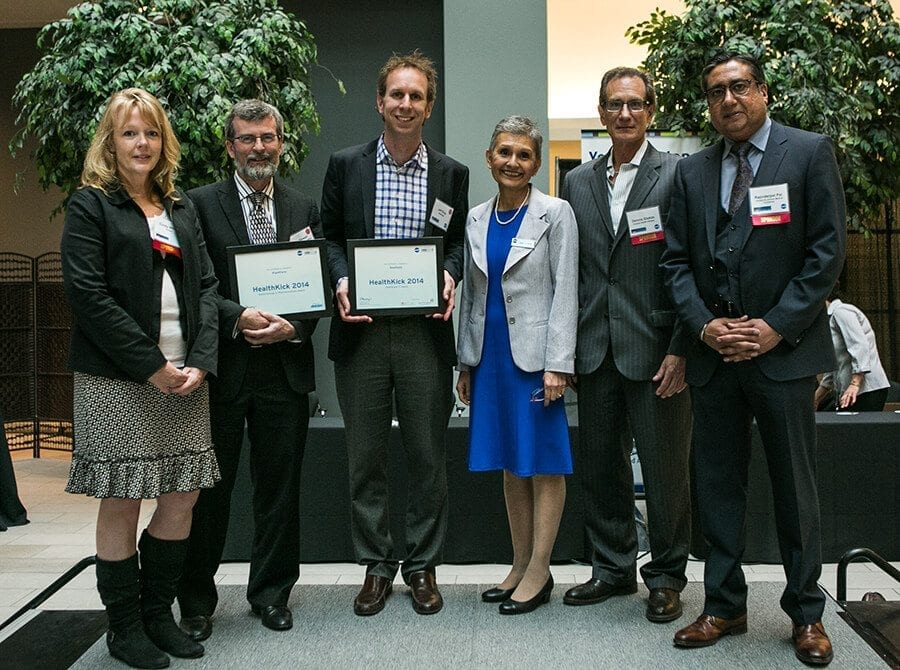 HealthKick 2014 winners