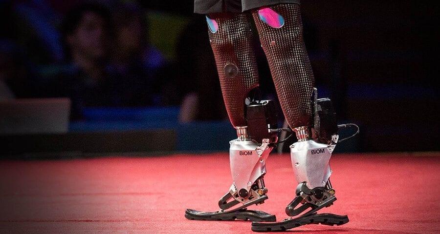 Hugh Herr prosthetic legs