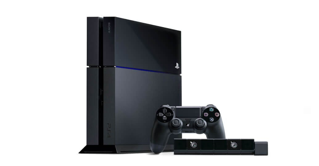 PS4 gaming console
