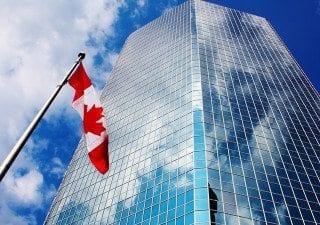 impact investing canada building flag