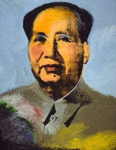 Mao (1873) by Andy Warhol