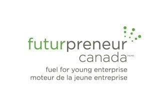 Futurpreneur Canada logo: fuel for young enterprise