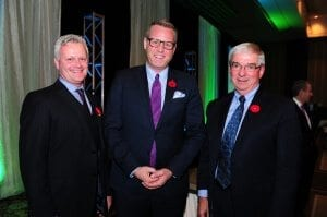 (Left to Right): Colin Anderson, Chair of the Board, Energy Council of Canada; Ian Philp, Director of Partnerships, Advanced Energy Centre; Graham Campbell, President, Energy Council of Canada