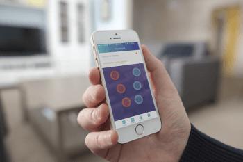 SENSIMAT App Sensor Screen