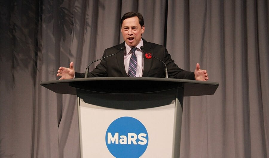 Brad Duguid, Ontario minister of economic development, employment and infrastructure