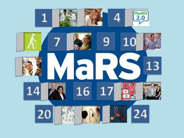 MaRS Health 2014 advent calendar