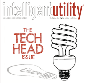 "Intelligent Utility's Nov/Dec 2014 Issue, ""The Teach Head"""