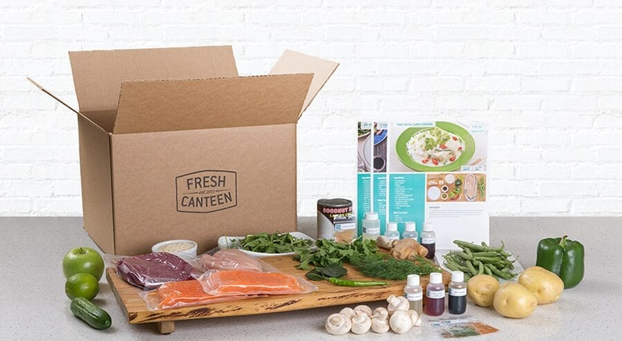 Fresh Canteen subscription box