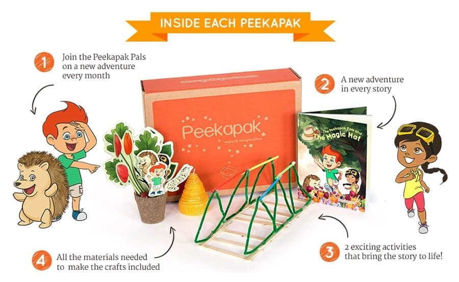 Peekapak subscription box