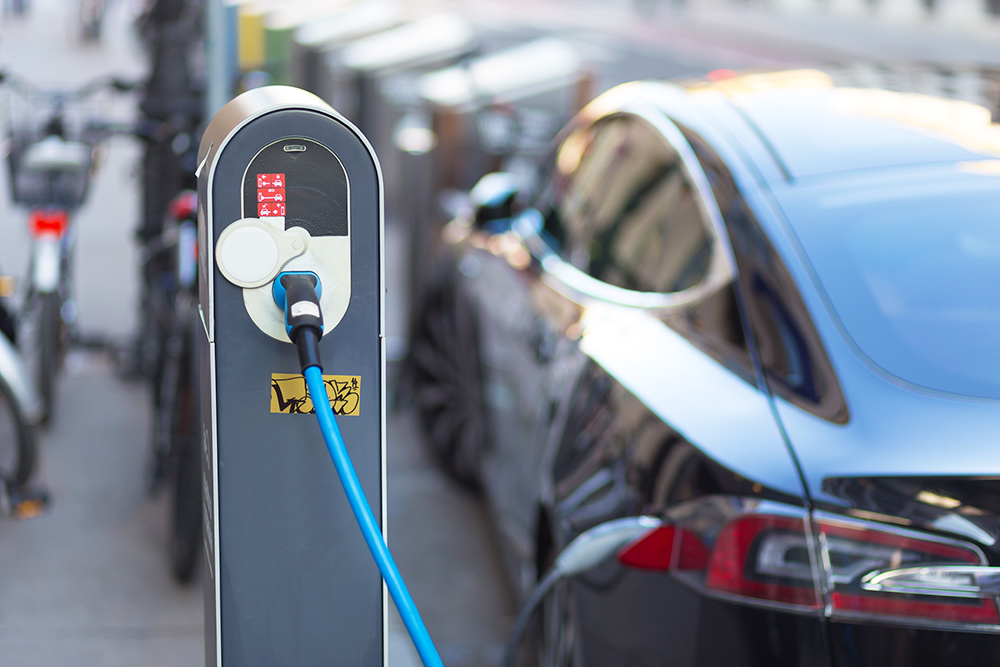 Tesla recharge station