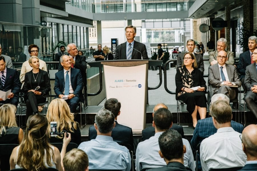JLABS announcement at MaRS