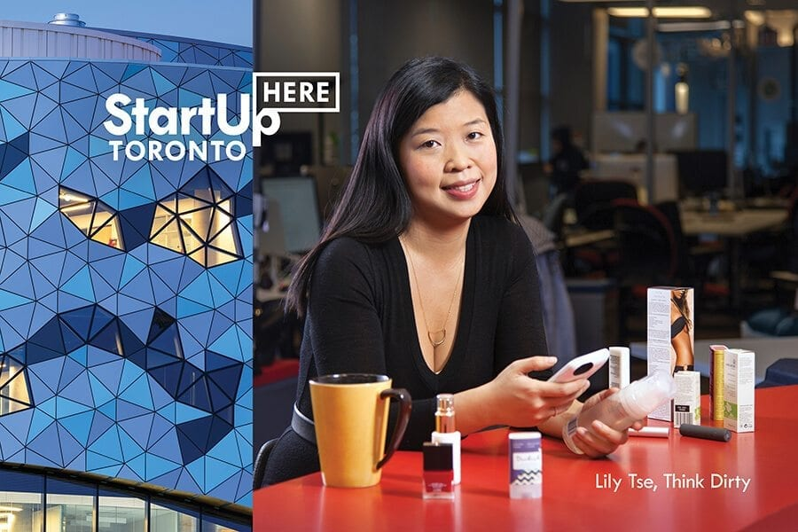 StartUp HERE profile of Toronto Lily Tse