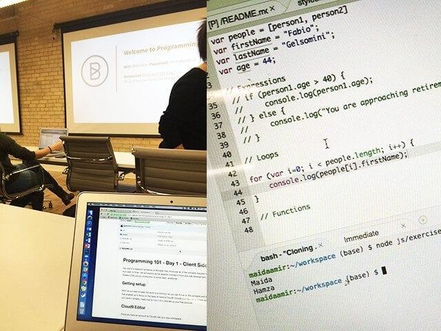Bitmaker coding class