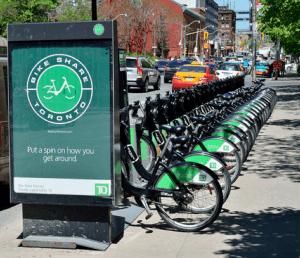 Bike share toronto docking station