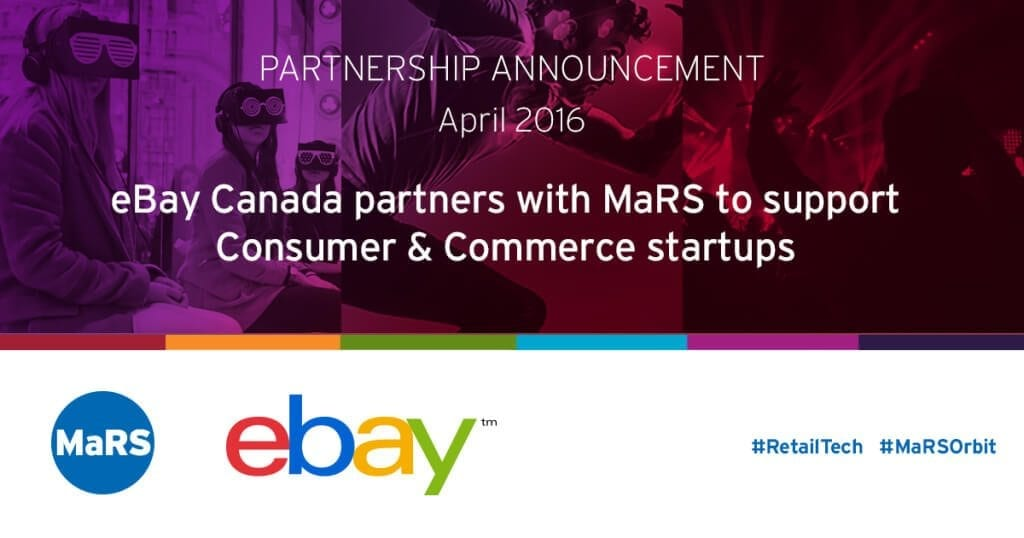 MaRS and eBay partnership