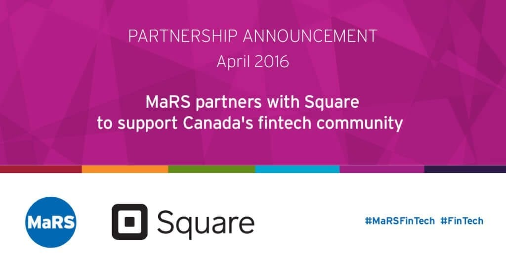 MaRS partners with Square