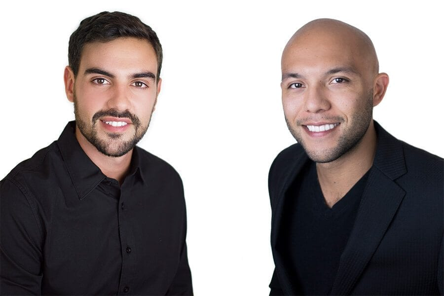 Edmundo Rodrigues and David Morales, co-founders of AutoWallet