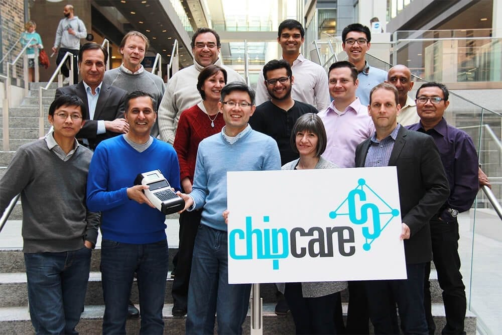 ChipCare team at MaRS