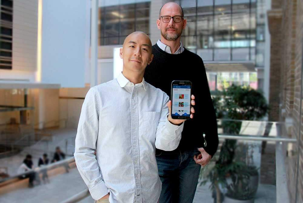 Raymond Shih and Chancellor Crawford, co-founders, QoC Health