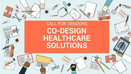 Call for Vendors: Co-Design Healthcare Solutonsn - Twitter