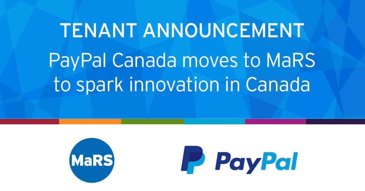 PayPal moves to MaRS