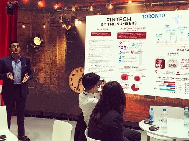 MaRS FinTech represents Canada at Sibos 2016