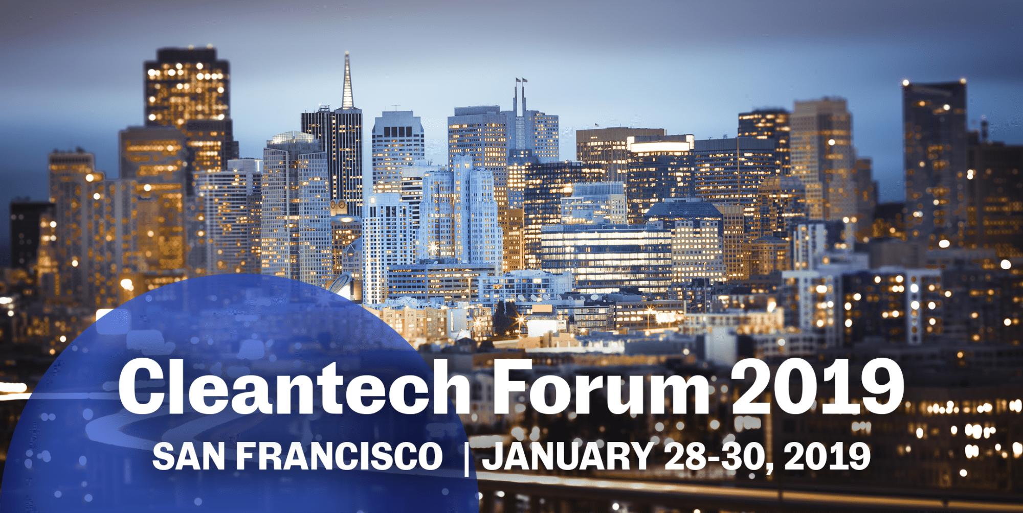 Cleantech Forum 2019 Mars