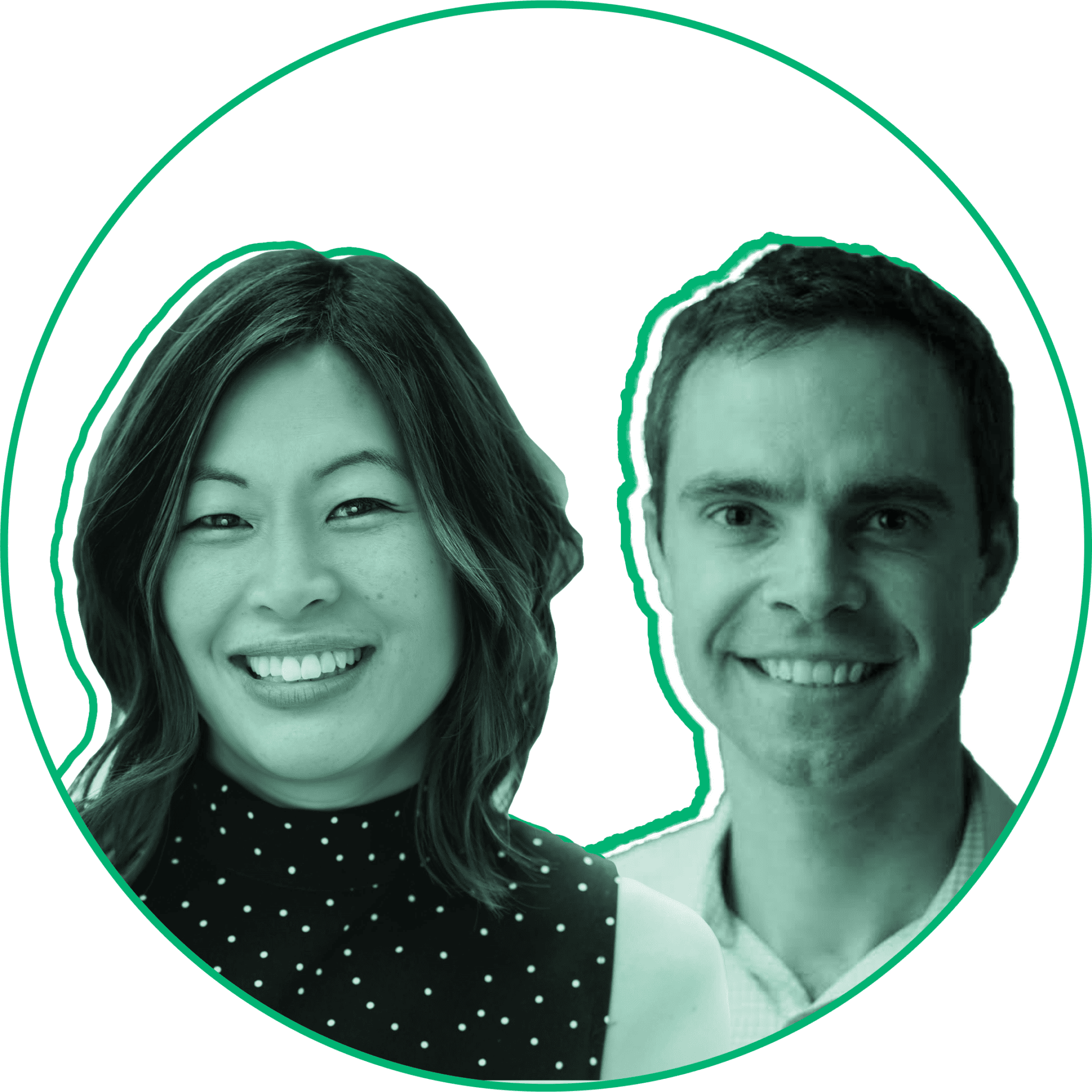 Eva Wong and Andrew Graham