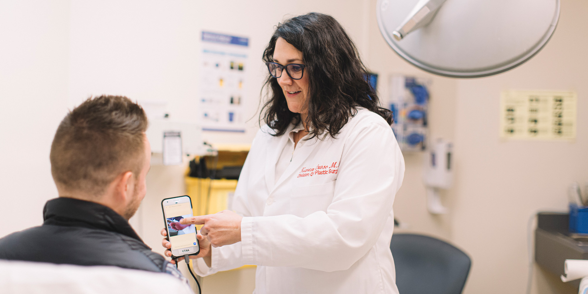 This doctor would rather not do another amputation. So, she invented a monitoring device to help patients.