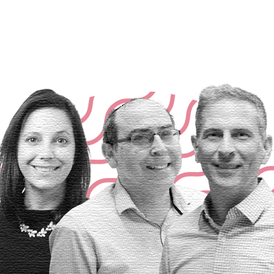 Rich Emrich, CEO and Co-founder; Kelly Dore, Co-founder and VP, Growth; Harold Reiter, Co-founder