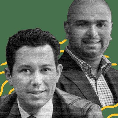 Alex Popa, Co-founder & CEO; Lloyed Lobo, Co-founder & President