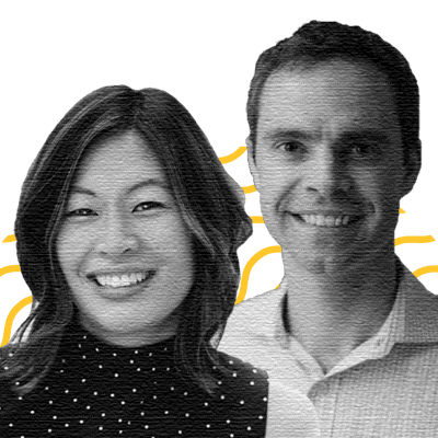 Andrew Graham, Co-Founder and CEO; Eva Wong, Co-Founder and COO