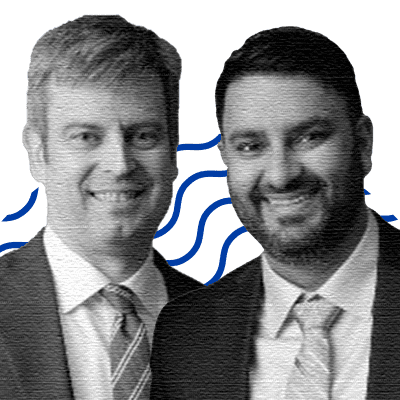 Brian Courtney, Chief Medical Officer, Co-founder; Aman Thind, CTO, Co-founder
