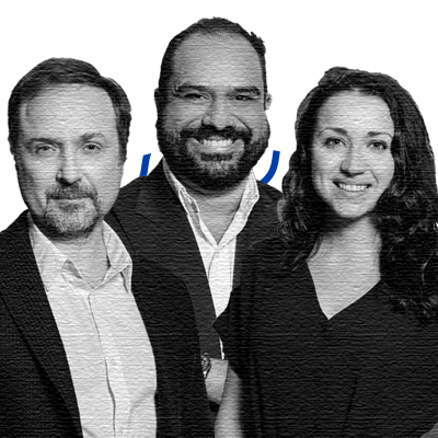 Alexis Smirnov, Co-founder & CTO; Anna Chif, Co-founder & Chief Strategy & Product Officer; Cherif Habib, Co-founder & CEO