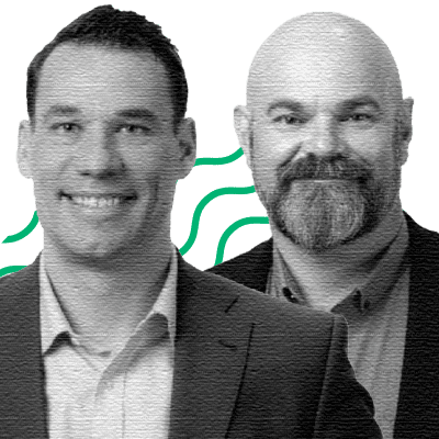 Cameron Lewis, Founder & CTO; Curtis VanWalleghem, CEO