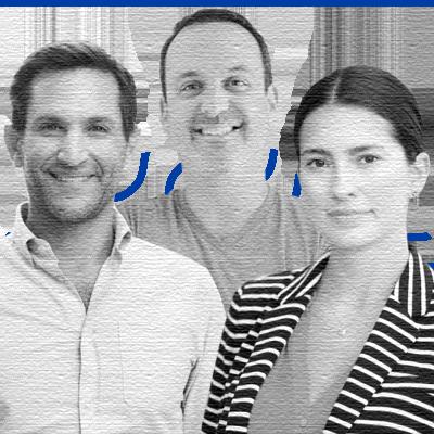 Brett Belchetz, Co-founder & CEO; Roxana Zaman, Co-founder & COO; Stuart Starr, Co-founder & CTO