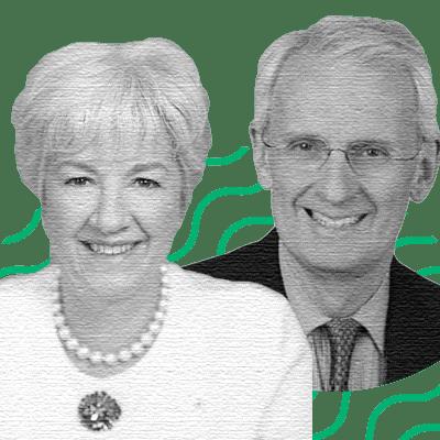 Annette Verschuren, Chair & CEO; David Patterson