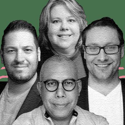Basil Bouraropoulos, CEO & Co-Founder; Curtis Gavura, President, COO & Co-Founder; Jaime Camacaro, CIO & Co-Founder; Carolina Bessega, CSO & Co-Founder