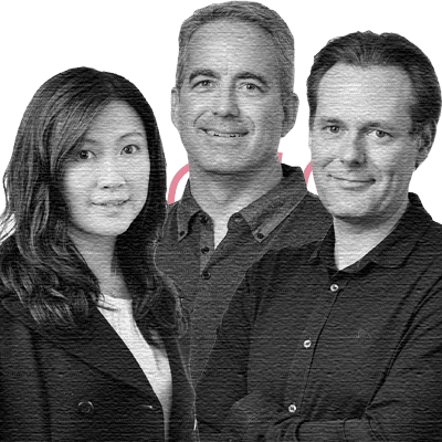 Ian Collins, CEO, Co-founder; Jeff Brunet, President, Co-founder; Karen Chan, CEO, Co-founder